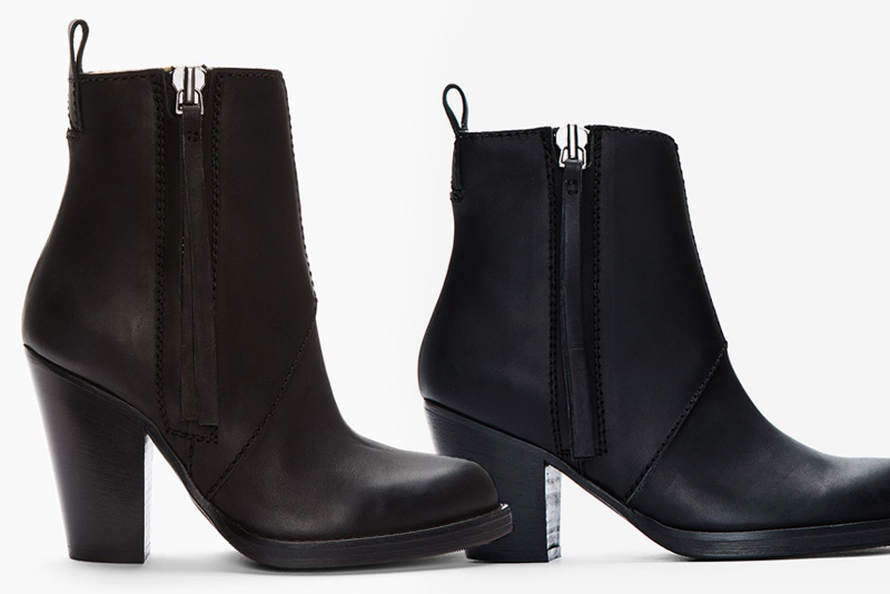 Neon Blush, Acne Colt boots, Acne Pistol boots, boots for fall, black boots, leather boots, Jenny Ong, Barneys NY