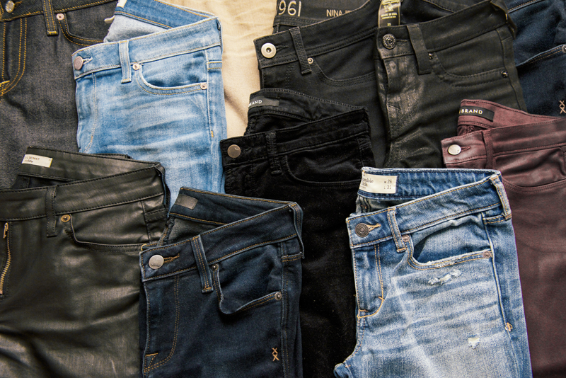 Neon Blush, denim brands, Los Angeles denim, black and blue denim, AND jeans, J Brand, Abercrombie & Fitch jeans, Civilianaire, dl1961, True Religion, Rich & Skinny jeans, Genetic denim