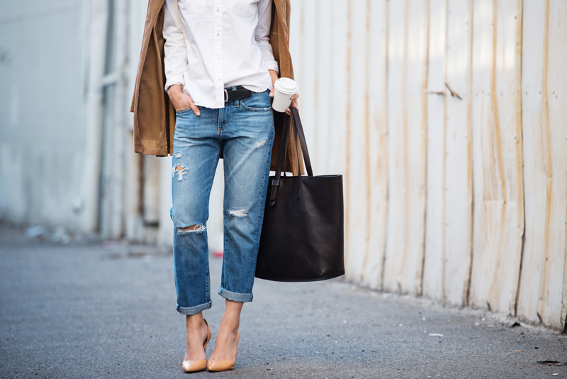 Neon Blush, AG Jeans, Angeleno Magazine, 500 shopping spree with AG Jeans, denim giveaway, Everlane Market tote, Zara court heels