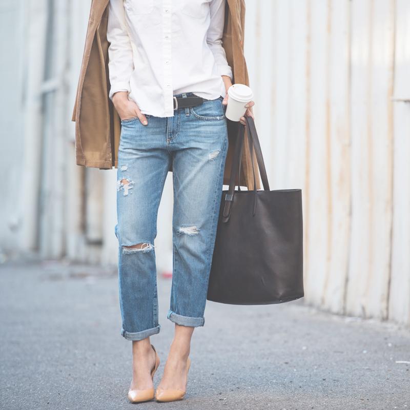 Neon Blush, AG Jeans, Angeleno Magazine, spring denim, LA style
