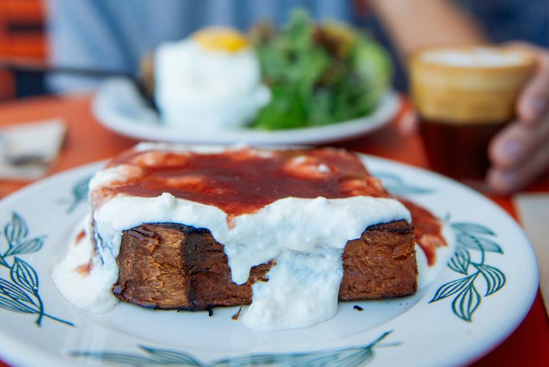 Mangeons, Sqirl brunch, Silverlake LA eats, breakfast food, food review